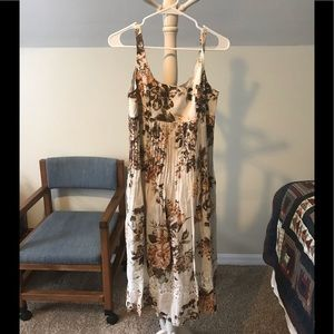 Teri Jon linen dress